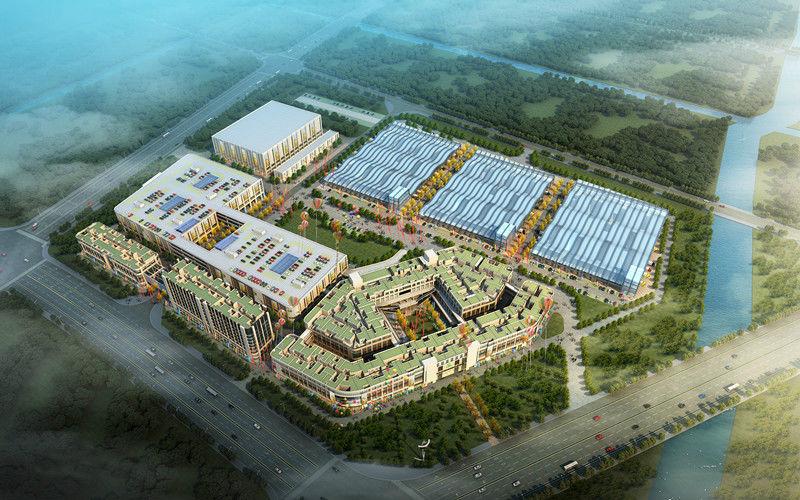 台州市农副产品集配中心有限公司(中国·农港城)签约包租婆商业